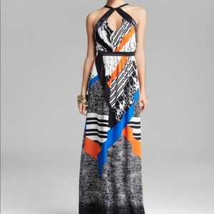 Twelfth Street Cynthia Vincent Halter Maxi Dress